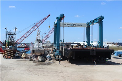 drydocking service for ships and other marine vessels